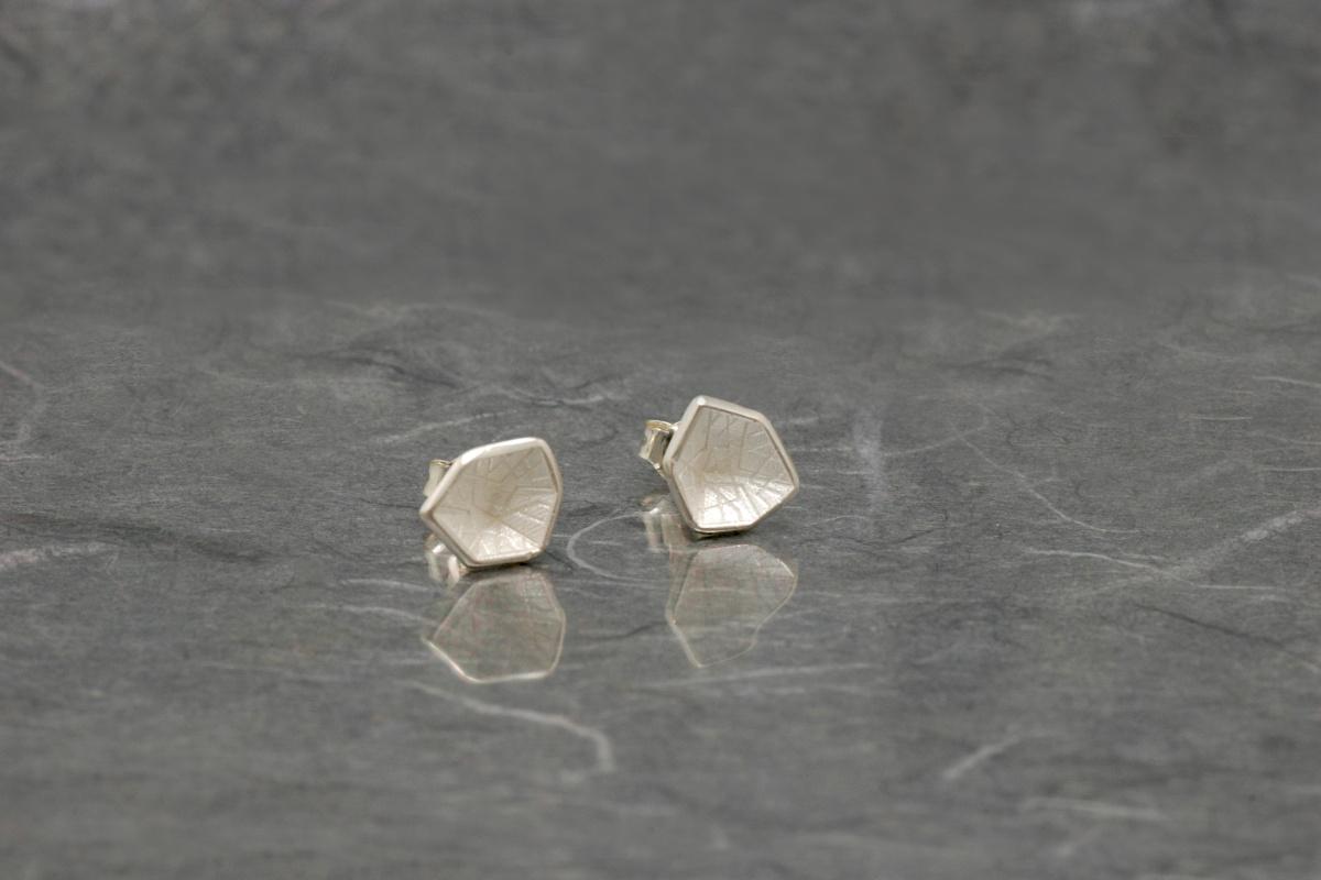 HEXAGONAL - Stud Earrings ref. PP