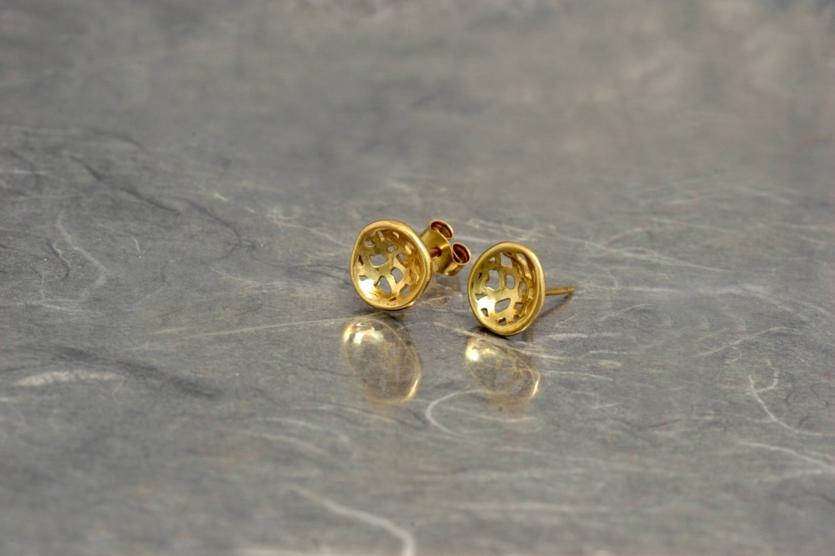MADISON - Stud Earrings PP, gold plated