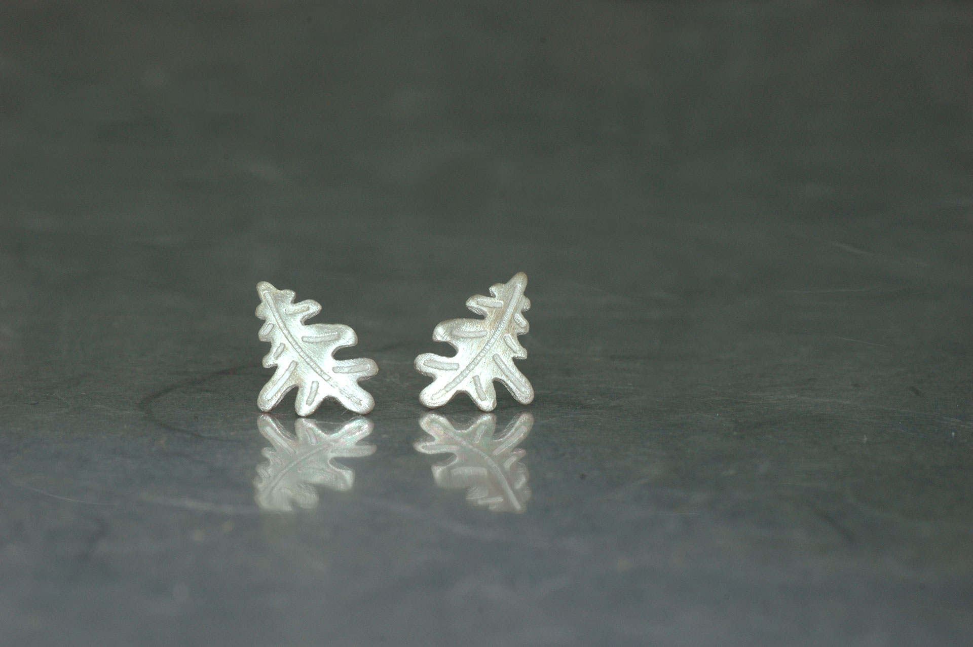 CARBALLO - Stud Earrings PP, with matte finish