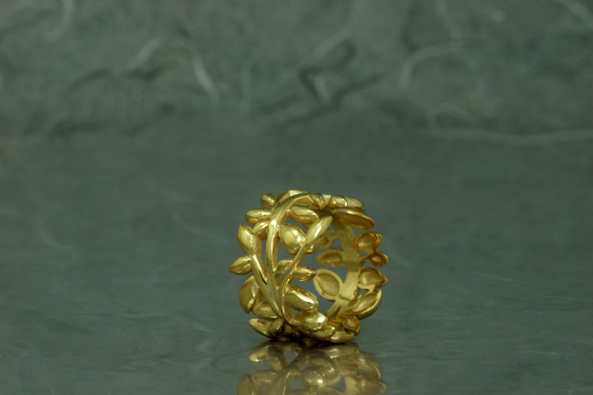 FENTO - Ring SSSSG, gold plated