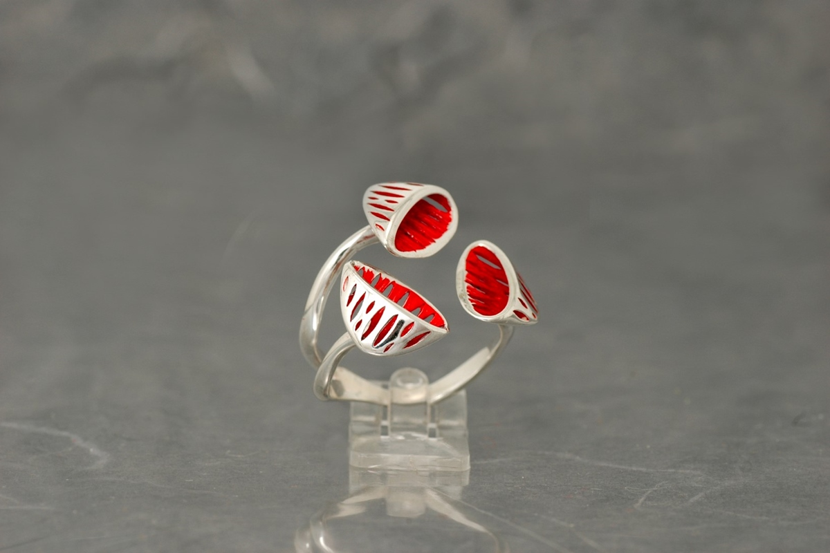 AVATAR - Ring ref.PP with shiny galvanized finish