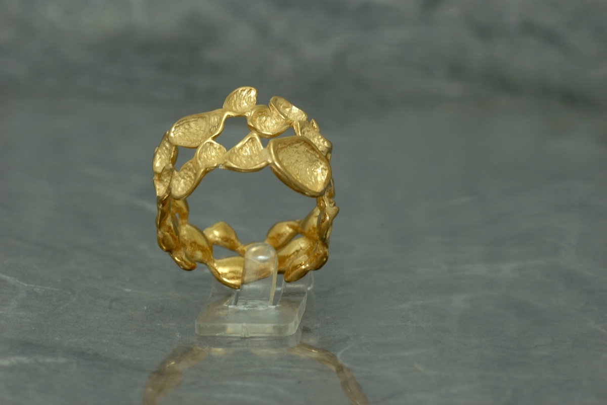 DREAM - Ring SSSG, gold plated
