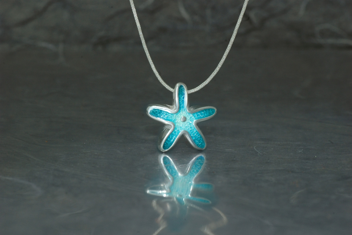 MARE - Pendant ref.G Star, with vitreous enamel