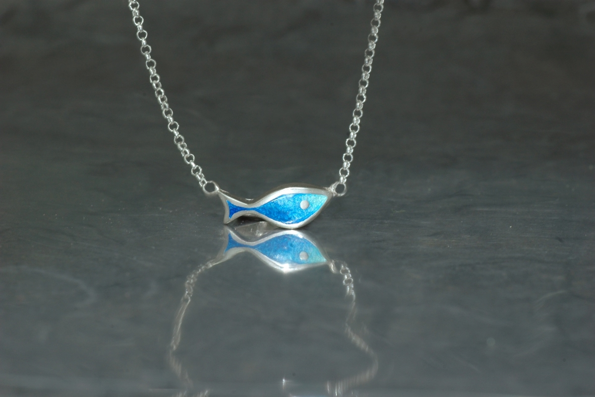 MARE - Necklace P, with vitreous enamel