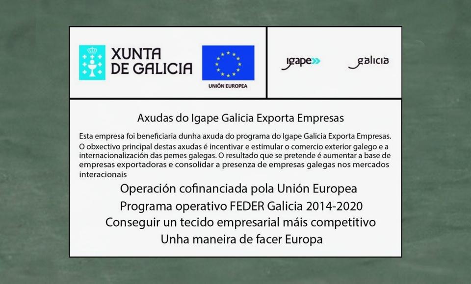 Ardentia ha sido beneficiaria de una ayuda del Igape para exportar