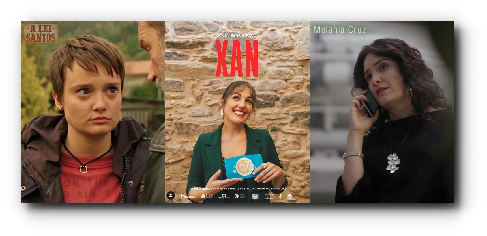 Lidia Veiga, Lucía Regueiro, Melania Cruz