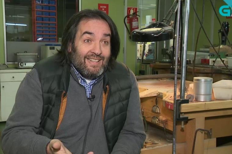 Mini entrevista a Luis González sobre el electroforming