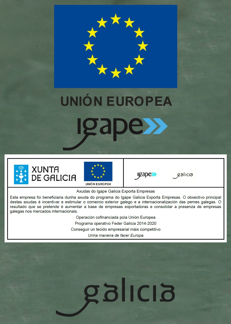Hemos recibido una ayuda Galicia Exporta Empresas