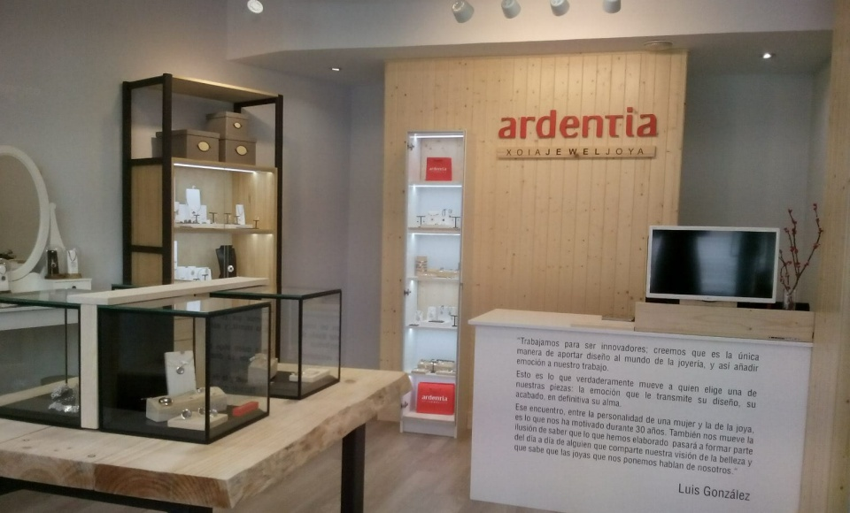Our new shop in Vigo