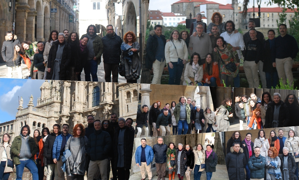 Celebramos el San Eloy en Santiago de Compostela