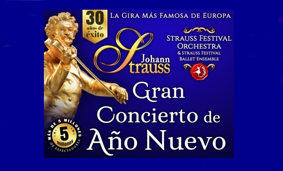 Patrocinamos el Gran Concierto de año Nuevo en Vigo