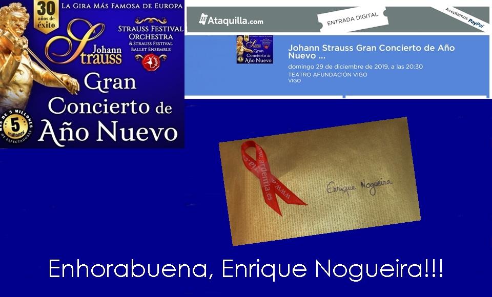 Enhorabuena a Enrique Nogueira!!!