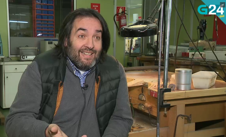 Galician TV in our workshop