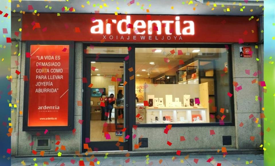 Nuestra tienda Ardentia Coruña cumple un año
