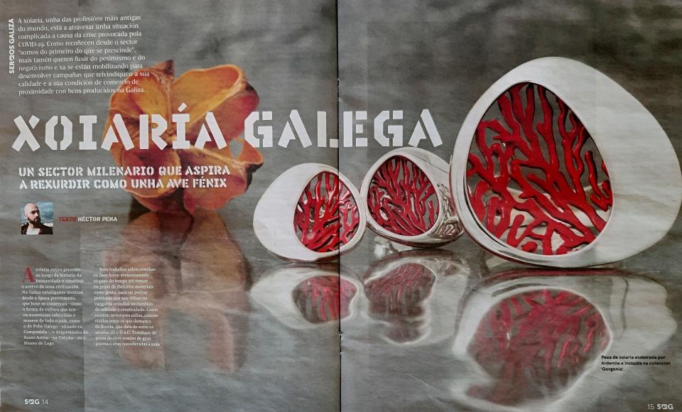 Artículo en Sermos sobre las joyerías Galicia Calidade