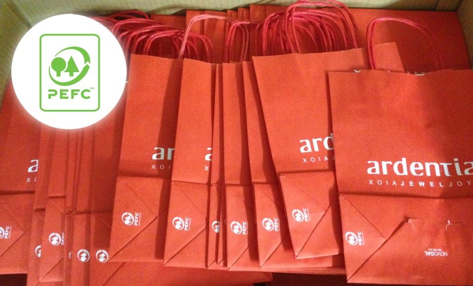 Ya tenemos nuestra nuevas bolsas ecológicas