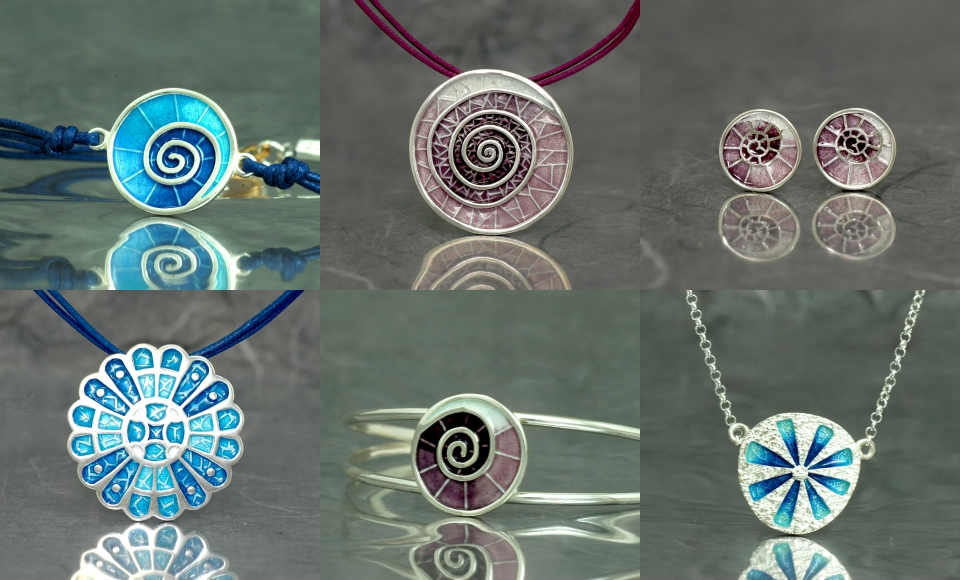 Varias joyas de nuestra colección Gaudí disponibles