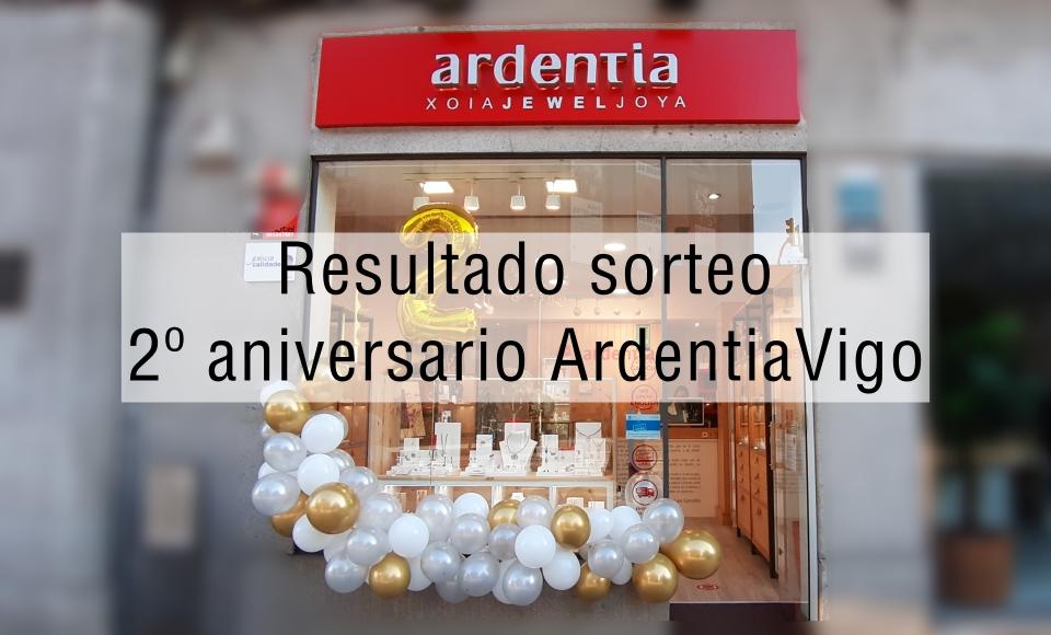 Sorteos del segundo aniversario de #ArdentiaVigo
