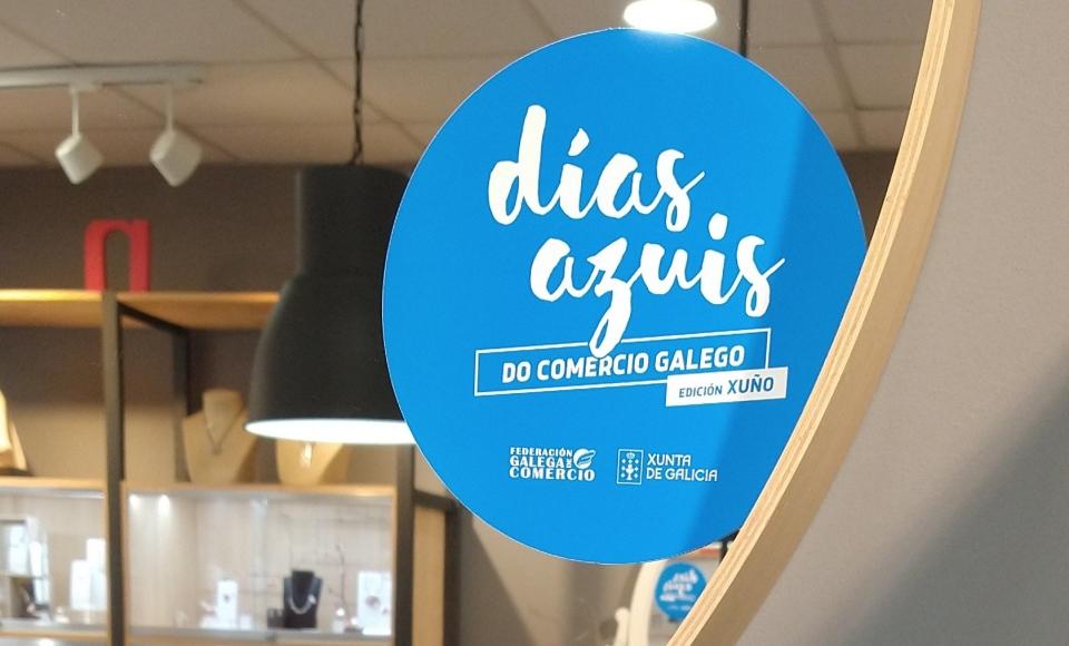 Nueva campaña de Días Azuis del Comercio Gallego