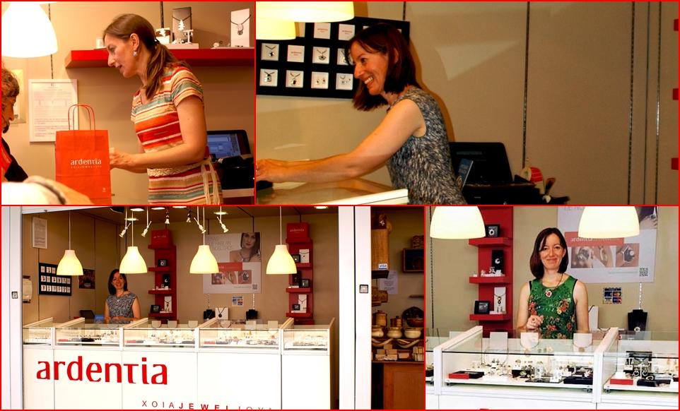 Cecilia atenderá nuestro stand de Mostrart